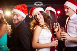 Celebrate your corporate Christmas party in restaurant Argentiina!