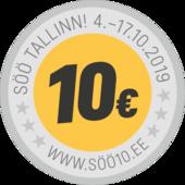 SÖÖ-kampanja ravintolassa ARGENTIINA(Pärnu mnt.)