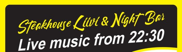 Live music every Friday at Steak-House Liivi