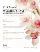 Women's Day at STENHUS restaurant!