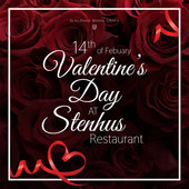 Valentine's Day at STENHUS restaurant!