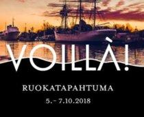 Ruokatapahtuma Voillá! 15.-17.3.2019