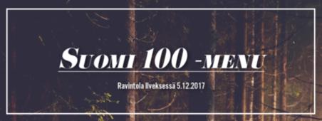 Suomi 100 -menu