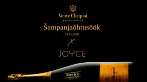 Veuve Clicquot šampanjaõhtusöök x JOYCE