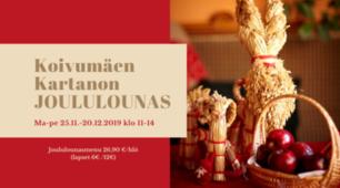 Kartanon Joululounas ma-pe ajalla 25.11.-20.12.2019