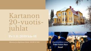 Koivumäen ravintolan 20-vuotisjuhlatanssit pe 1.11.2019