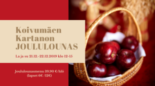 Joululounas la-su 21.-22.12.2019