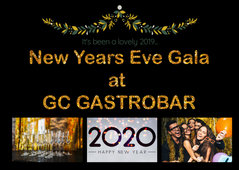 New Years Eve Gala at GC Gastrobar !